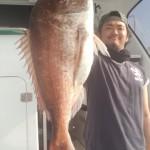 4.3k71㌢真鯛キャッチ! 加古さんおめでとうございます♪