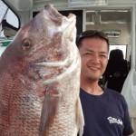 6.2K83㎝夏真鯛でした! 長谷川さんおめでとうございます♪
