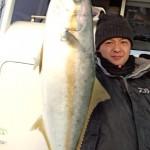 Hiramasa Catch♪ 長谷川さん おめでとうございます♪